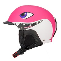 CE Quality Children Ski Helmet For Kids Adult Skating Snowboard Skateboard Skiing Helmets Shark Cartoon Helmet