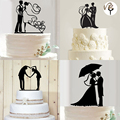 New Romantic Acrylic Cake Topper Mr Mrs Hollow Cake Accessory Wedding Cake Topper Decoration Party Supplies