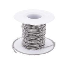 Около 10 м/рулон неспаянные панцирные цепи из нержавеющей стали