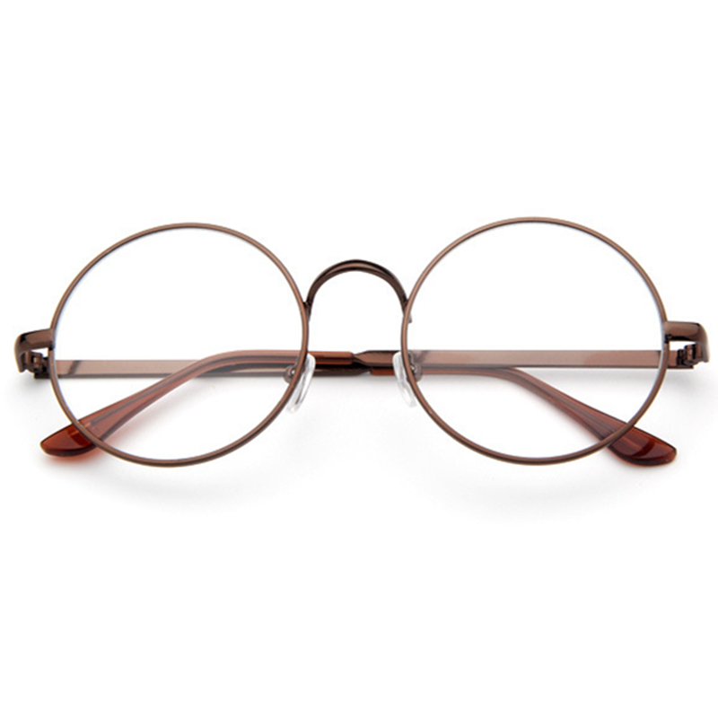 Glasses Frames 2017 Style : Aliexpress.com : Buy Retro Korean Style Metal Ultra Light ...