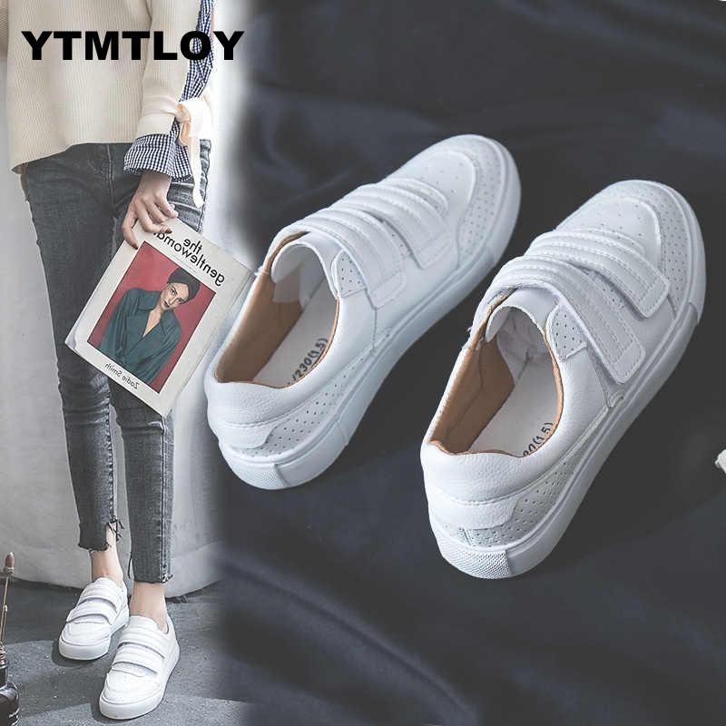 2019 Women Fashion Vulcanized Shoes Tenis Feminino Zapatos De Mujer Slimming White Sneakers   Women Casual Shoes Breathable R6