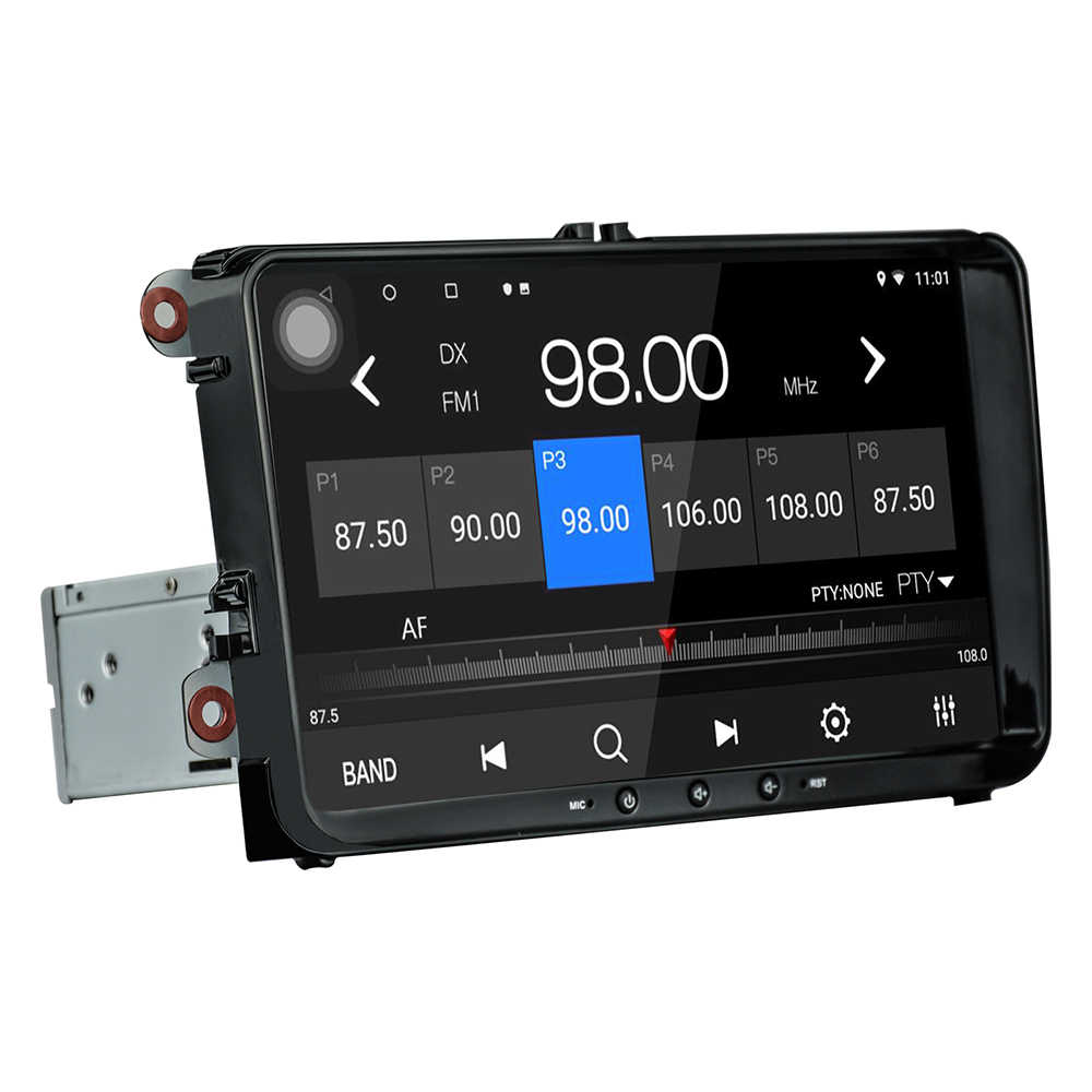 IPS Android 8.1 Octa Core 4G + 32G Auto multimedia-player Radio Für Volkswagen/Golf/Polo/ tiguan/Passat/SITZ GPS BT RDS V-OUT Canbus