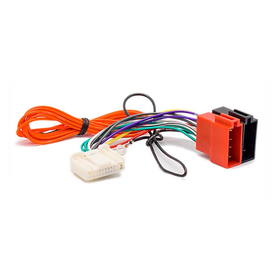 Auto Estéreo Radio Cable adaptador conector ISO Arnés de cableado para Nissan Nota