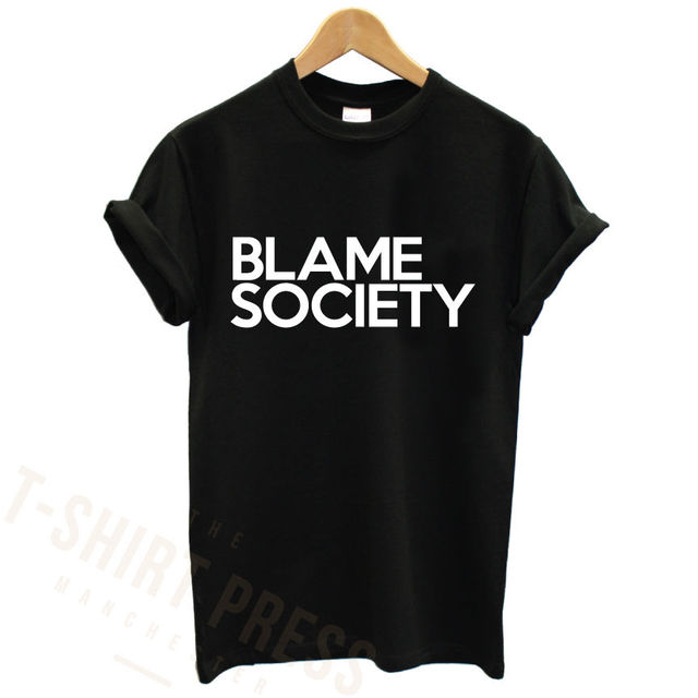 2fa09eb3 BLAME SOCIETY PRINTED MENS T SHIRT JAY Z RAP FAMOUS CELEBRITY SWAG VIP  PRINT TEE TShirt Tee Shirt Unisex More Size and Colo-A191. 1 order