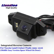 Liandlee For Toyota Land Cruiser Prado 1999~2016 Car RearView Backup Parking Camera Rear Reverse Camera / SONY CCD HD Integrated for toyota land cruiser prado lc 150 lc150 2010 2014 car parking camera with tracks module rear camera ccd night vision