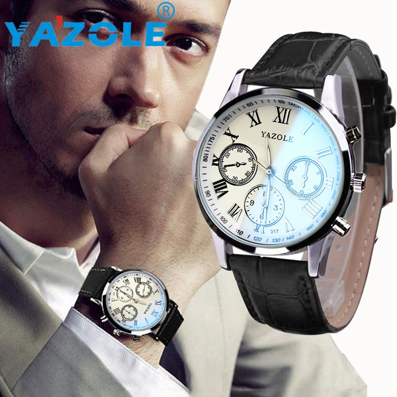 YAZOLE Men Wrist Watch Top Luxury Famous Wristwatch Male Clock Quartz Watch Hodinky Quartz Watch Relogio Masculino #A78