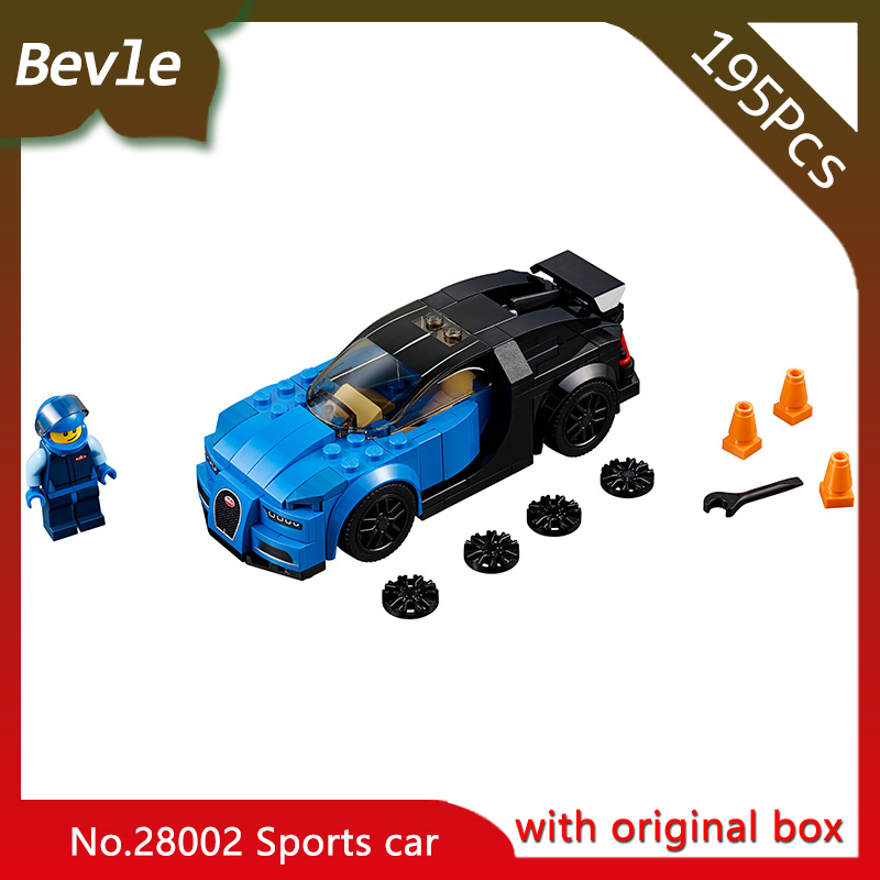 New Bevle Store LEPIN 28002 198Pcs with original box Technic series  Grans Sport Building Blocks Bricks For Children Toys 75878 bevle store lepin 22001 4695pcs with original box movie series pirate ship building blocks bricks for children toys 10210 gift