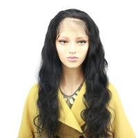 Eseewigs 150 плотность свободная волна 360 Кружева Фронтальная парики для волос предварительно сорвал бразильский Реми натуральные волосы волнис
