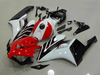 100% Injection body fairing kit for w1 2004 2005 CBR1000RR CBR 1000 RR 04 05 CBR1000 RR white red fairings parts