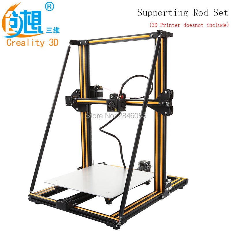 CREALITY 3D Printer Upgrade Parts Supporting Rod Set Two Size Choose for Creality 3D CR-10 CR-10S CR-10 S53D Printer
