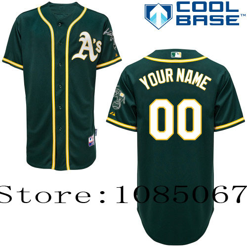 Baseball 27 Jersey Personalized En Deportes De Customize Y € Béisbol Oakland Jerseys Gray Green 21 Yellow Athletics free White Authentic
