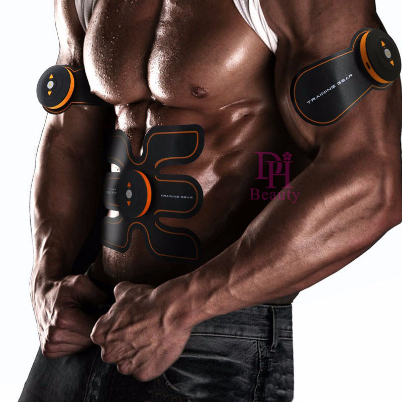Rechargeable EMS Multi-Function Electrical Muscle Stimulation Muscle Training EMS abdominal exerciser Device Weight Loss MassageRechargeable EMS Multi-Function Electrical Muscle Stimulation Muscle Training EMS abdominal exerciser Device Weight Loss Massage