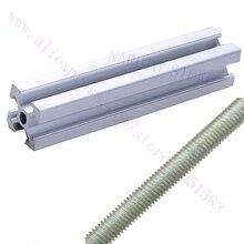 Reprap FoldaRap 3D Printer 20x20mm Aluminum Profles extrusions 6mm Slot 5 200mm 6 300mm FoldaRap M5