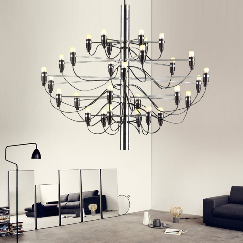 Modern Stainless Tree fruit Pendant Light with 18/30/50 Bulbs Pendant Lamp for Living Room dining Room Cafe Bar screening tree print blackout curtain for living room