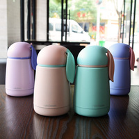 2016 Cute Mini Thermos Coffee Cup Rabbit Stainless Steel Mighty Mug Lovely Portable Vacuum Flask Christmas