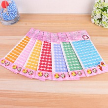 Creative Button Stickers Drawing Board Toys for Children DIY Handmade Painting Craft