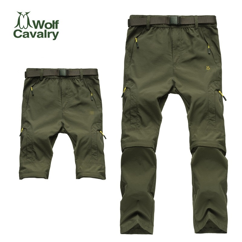 Hot Sales camping hiking Quick Drying pants Travel Active Removable hiking pants outdoor climbing pants Trousers image