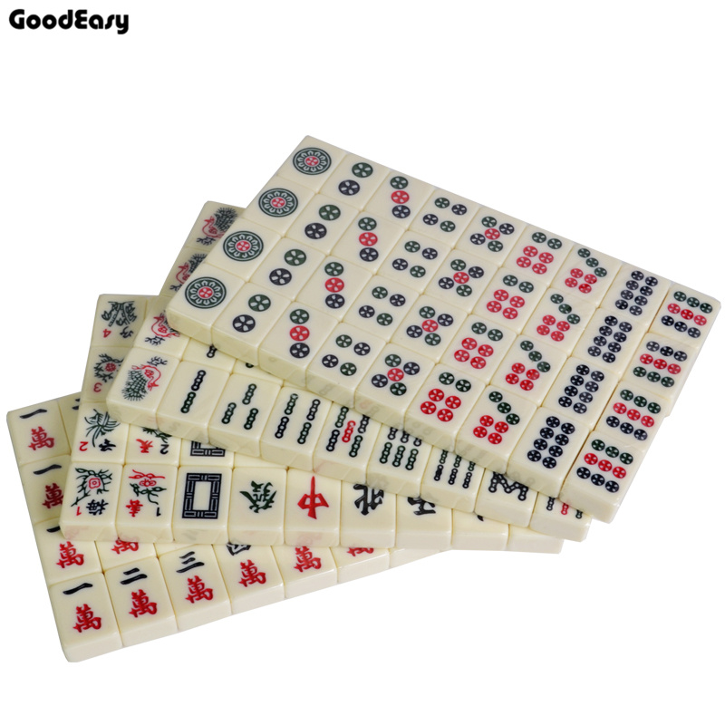 Hot Sell 30mm Traveling Mahjong set with Canvas Bag Mahjong Games Home Games Chinese Funny Family Table Board Game castles of burgundy board game 2 4 players cards games send english instruction funny game for party family with free shipping