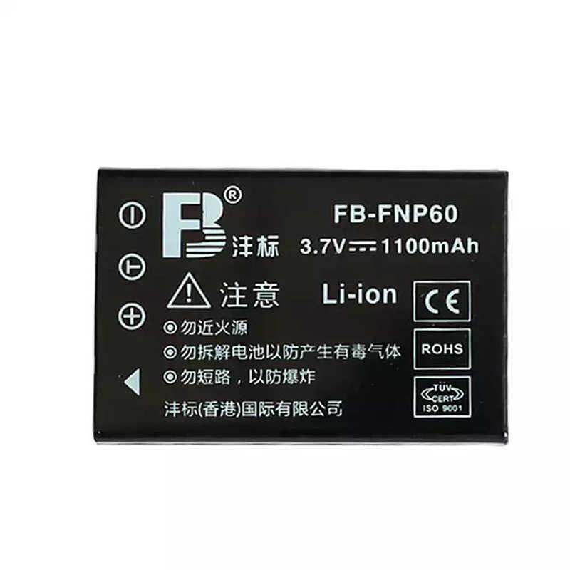 NP-60 FNP60 NP60 SLB 1137 1037 CNP-30 K5000 D-Li2 литиевые батареи Li-20B Цифровая камера Аккумулятор для Fujifilm F50I F501 F401