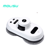 MOLISU Free Shipping W5 Robot Vacuum Cleaner Window Cleaner Auto Clean Anti Falling Smart Window Glass