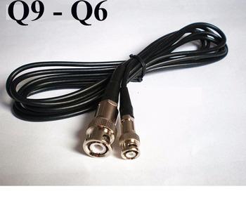 BNC przewód połączeniowy dla defektoskop ultradźwiękowy (Q9-Q6) złącze BNC do Q6 tanie i dobre opinie S1-UFD-Q9-Q6-2m Xing Yun China (Mainland)