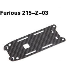 Walkera Furious 215 spare parts 215-Z-03 Battery Fixing Plate Carbon Fiber Board