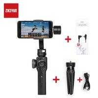 ZHIYUN гладкой Q обновленная версия гладкой 4 3 оси ручной карданный стабилизатор для iPhone телефона Android действие Камера Steadicam