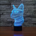 Color Changing   Night Light  Cat Indoor 3D led bulb  Light From China USB Novelty Light Etsy  For gifts