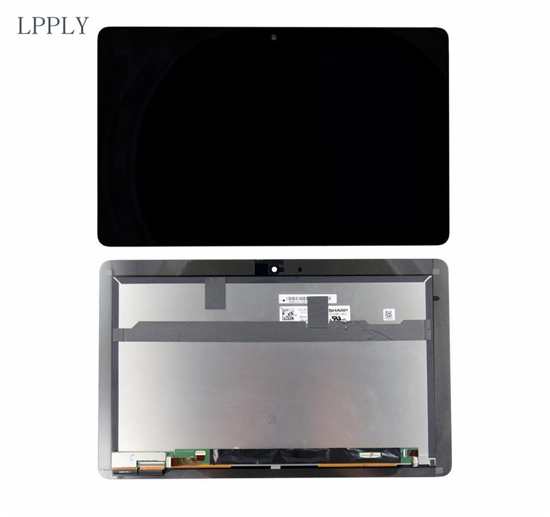 LPPLY 10.8 inch For Dell Venue 11 pro 7130 7139 5130 7140 Tablet Monitor Touch screen LCD Screen Glass Display Assembly for dell venue 11 pro 7130 tablet pc ltl108hl01 display replacement free shipping