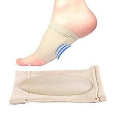 pretty nice 80779 bc49d 20 paires Gel pieds plats Massage orthèse semelle intérieure soin des pieds fasciite  plantaire soutien de