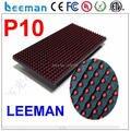 Leeman СВЕТОДИОДНЫЙ матричный P10 крытый красный модуль --- Открытый высокая яркость одного цвета P10 usb мини-программируемый светодиодный знак дисплей
