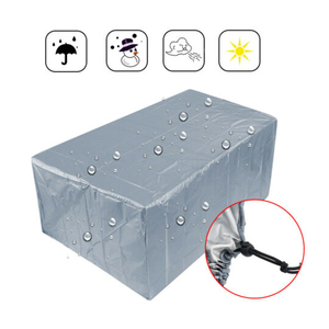Waterproof 210T Furniture Cover For Garden Rattan Table Cube Chair Sofa All-Purpose Dust Proof Outdoor Patio Protective Case New(China)