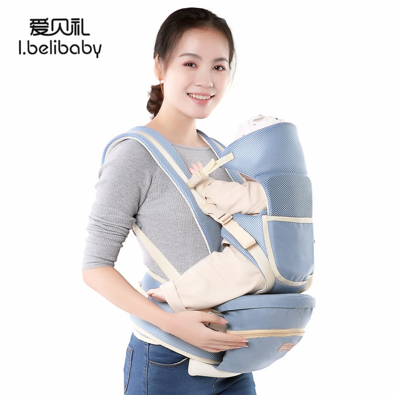 Ibelibaby Baby Carriers Hipseat For Newborn And Prevent O-type Legs Outdoor Travel Outing Supplies Pouch Wrap Sling