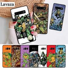 Lavaza Teenage Mutant Ninja Turtles Silicone Case for Samsung S6 Edge S7 S8 Plus S9 S10 S10e Note 8 9 10 M10 M20 M30 M40 цена