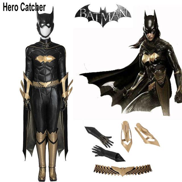 Hero Catcher Batgril Cosplay Costume Leather Batgirl Costume With Cape Movie Batman Costume For Woman Black  sc 1 st  AliExpress.com & Hero Catcher Batgril Cosplay Costume Leather Batgirl Costume With ...
