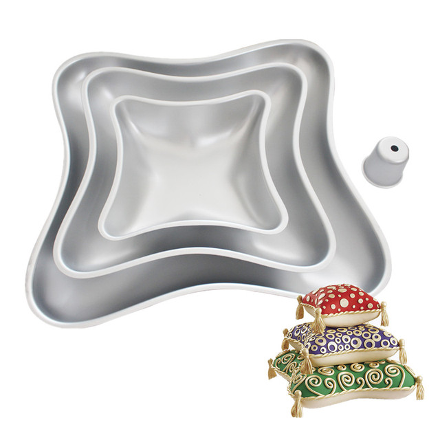 Pillow Shaped Cake Tins