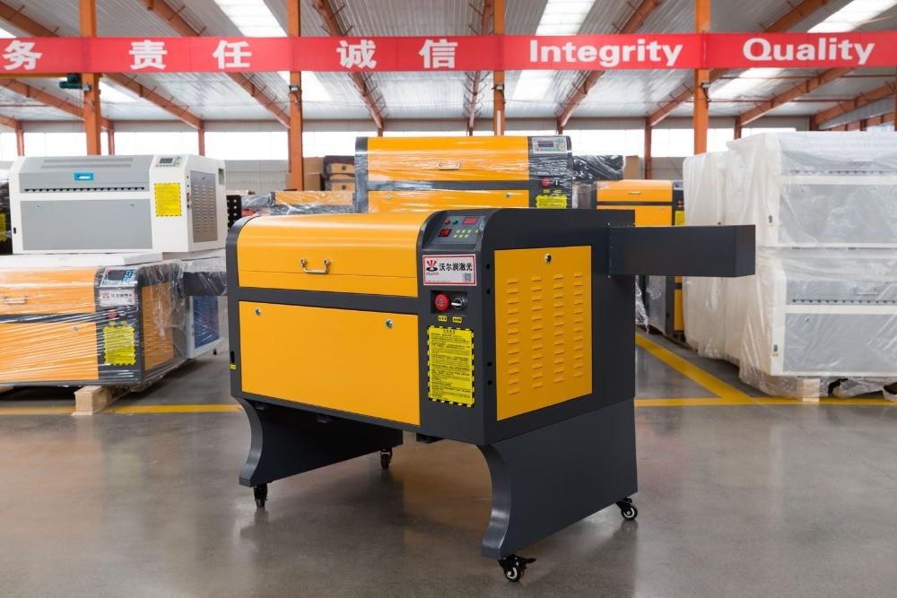 VOIERN livraison gratuite à moscou! usine vendre! Machine de gravure laser co2 60 W WR4060 M2, coupe laser 220 v/100 v, machine de gravure CNC
