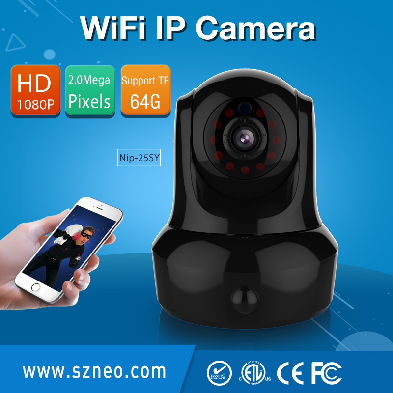 NEO Coolcam NIP-25SY Full HD 1080P wifi ip camera, Wireless P2P CCTV Full HD IP Camera and built-in PIR motion sensor,Free APP. кувалда neo 25 072