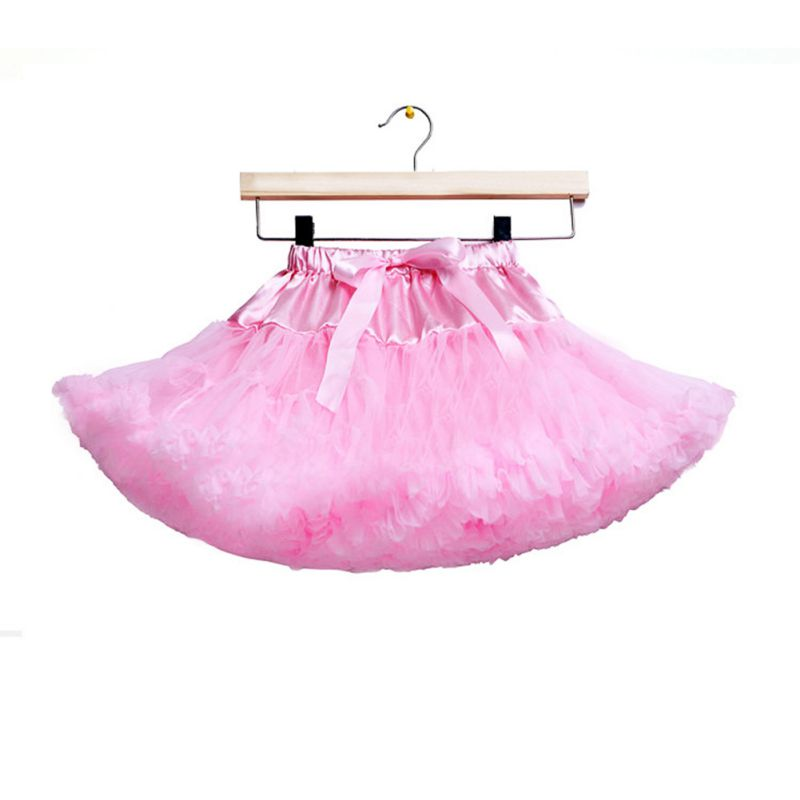 Toddler Girl Baby Fluffy Pettiskirt Princess Tutu Skirt Dancewear Party 0 8Y In Skirts From Mother Kids On Aliexpress