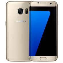 Desbloqueado original samsung galaxy s7 edge celular g935f versão da ue eua versão 4g 5.5 polegada 12.0 mp 4gb ram 32gb rom