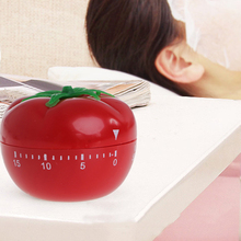 Usable Tomato Shape Cooking Mechanical Timer Kitchen Gadgets Countdown Reminder  #K400Y#