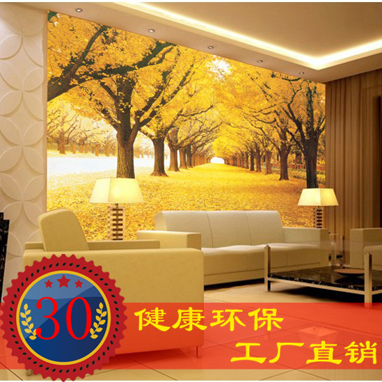 Custom gold woods Television Continental wallpaper room fabrs