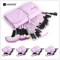 VANDER Pro 5 32pcs Makeup Brush Set Cosmetic Kits Brushes Foundation Powder Blush Eyeliner Pincel Maquiagem