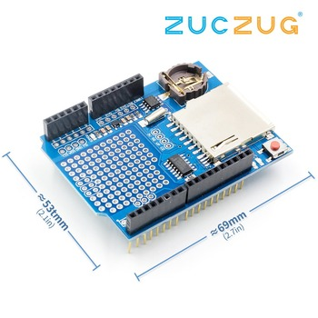 Новый модуль записи данных щит SD карта записи данных щит V1.0 для Arduino UNO SD карта