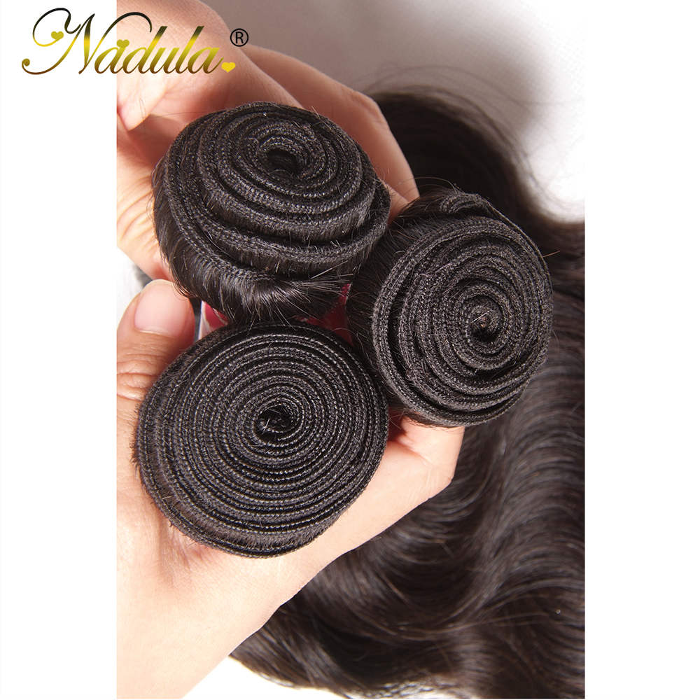 Nadula Hair  Body Wave  1 Piece Hair  Bundle 8-30inch  Hair Natural Color  4