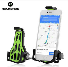 ROCKBROS Bicycle Phone Holder Adjustable Road Bike  3.5-7 Inch Cellphone MTB Bracket Universal Cycling Accessories
