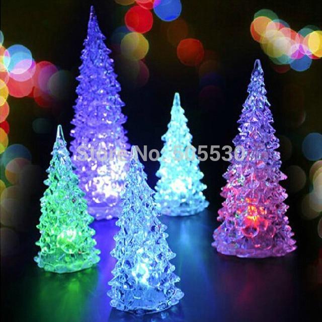 Vintage crystal christmas tree led night light seven color vintage crystal christmas tree led night light seven color changing home table lamp decoration aloadofball Gallery