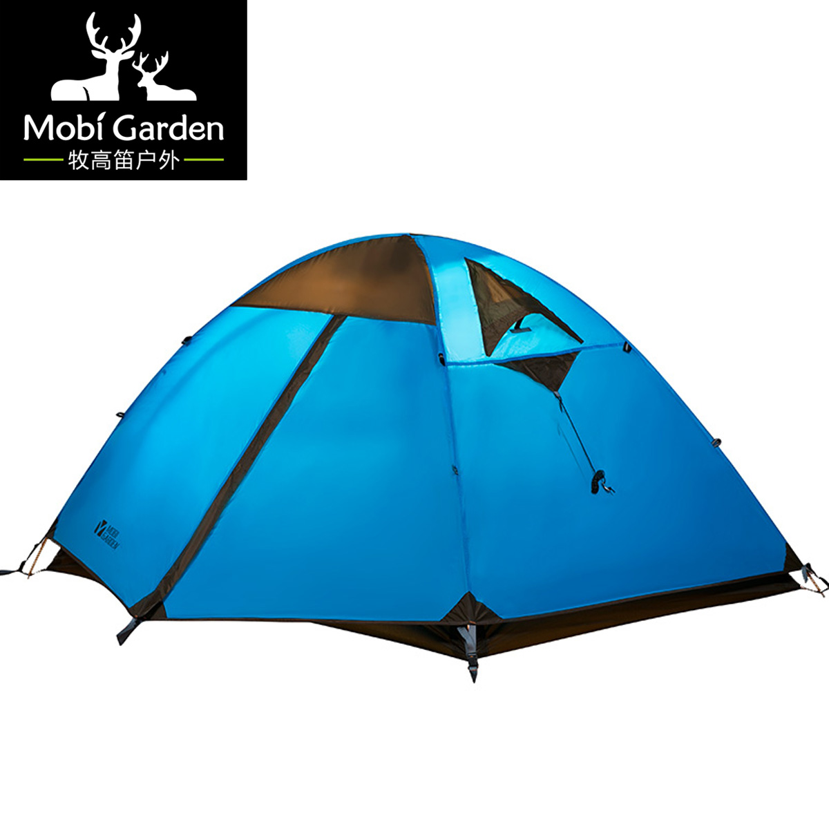 Outdoor hiking windproof aluminum rod double layer tent 2 high quality outdoor 2 person camping tent double layer aluminum rod ultralight tent with snow skirt oneroad windsnow 2 plus