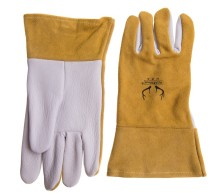 Work Glove Welding Gloves Leather TIG MIG ! Comfoflex Grain Goatskin Mig Tig
