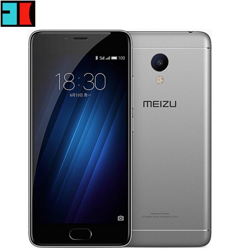 """Цена за Новый meizu m3s mini global прошивки 2 ГБ ram 16 ГБ rom мобильного телефона 2.5d стекло mt6750 octa ядро 5.0 """"13MP 3020 мАч gps WI FI"""